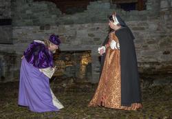 Biskop Mogens byr Jomfru Karine til dans.