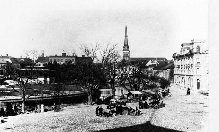 Fiskartorget, handel, Västerås.