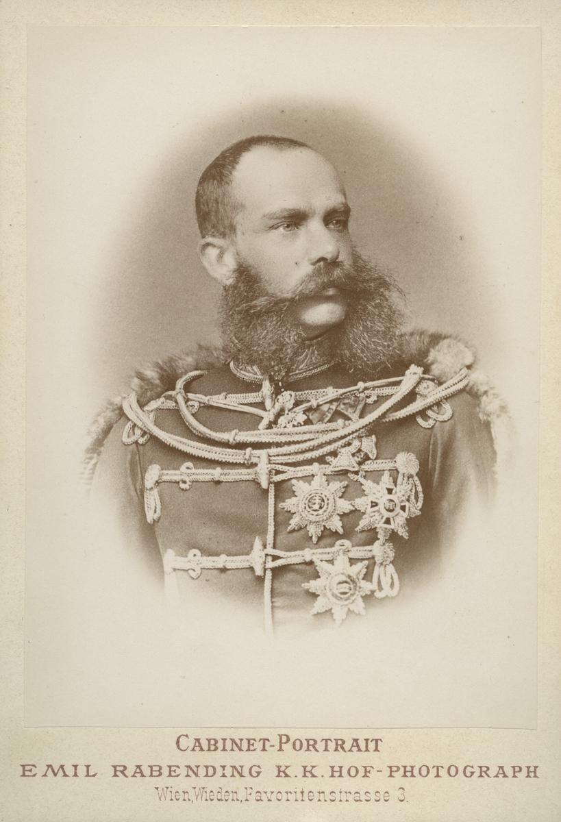 Kejsare Frans Josef I av Österrike.