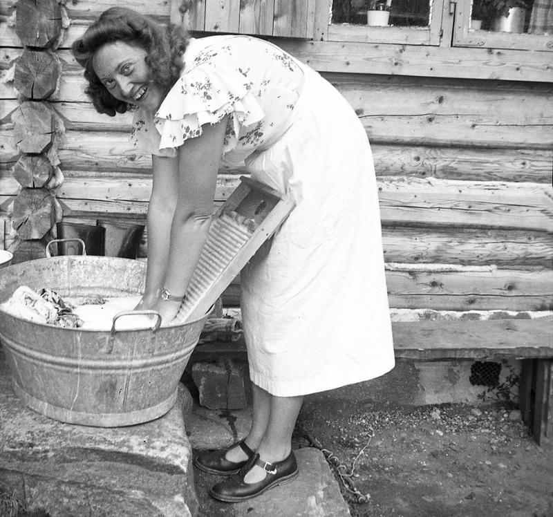 Foto av Fritjof Arentz, 1940.