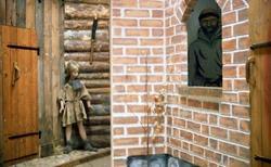 Försvarshistoriska muséet, Jkpg. Gatumiljö, medeltiden.