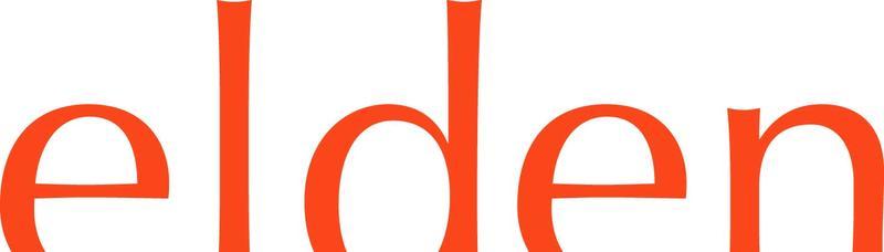 Elden logo orange