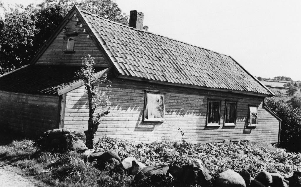 Heimehuset på garden til Oskar Fosse.