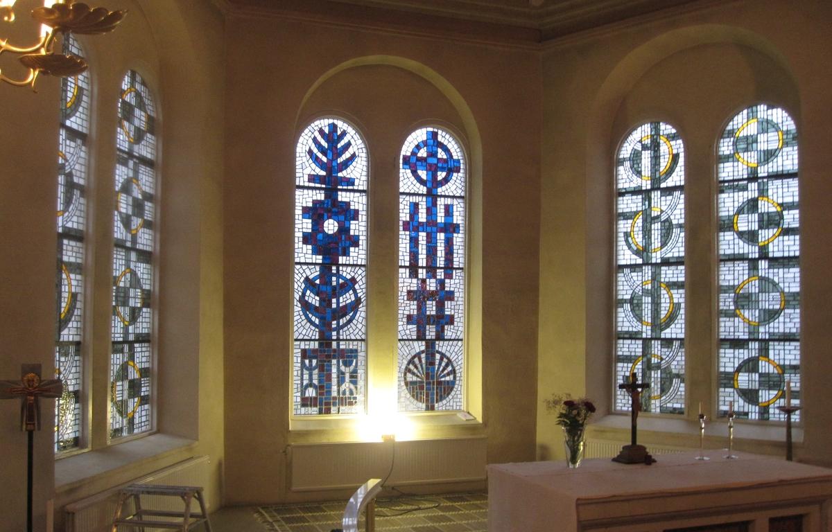 Interiör, Vrigstad kyrka i Vrigstad socken, Sävsjö kommun.