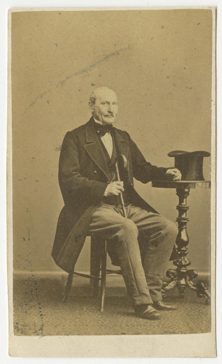 Porträtt av Ludvig Lagercrantz, kapten vid Andra livgrenadjärregementet I 5.