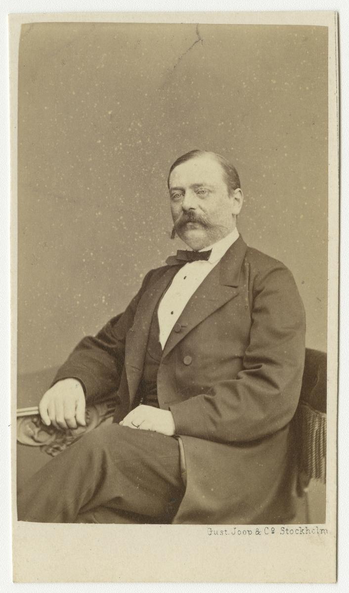 Porträtt av Henrik Wilhelm Spens, löjtnant vid Andra livgrenadjärregementet I 5.