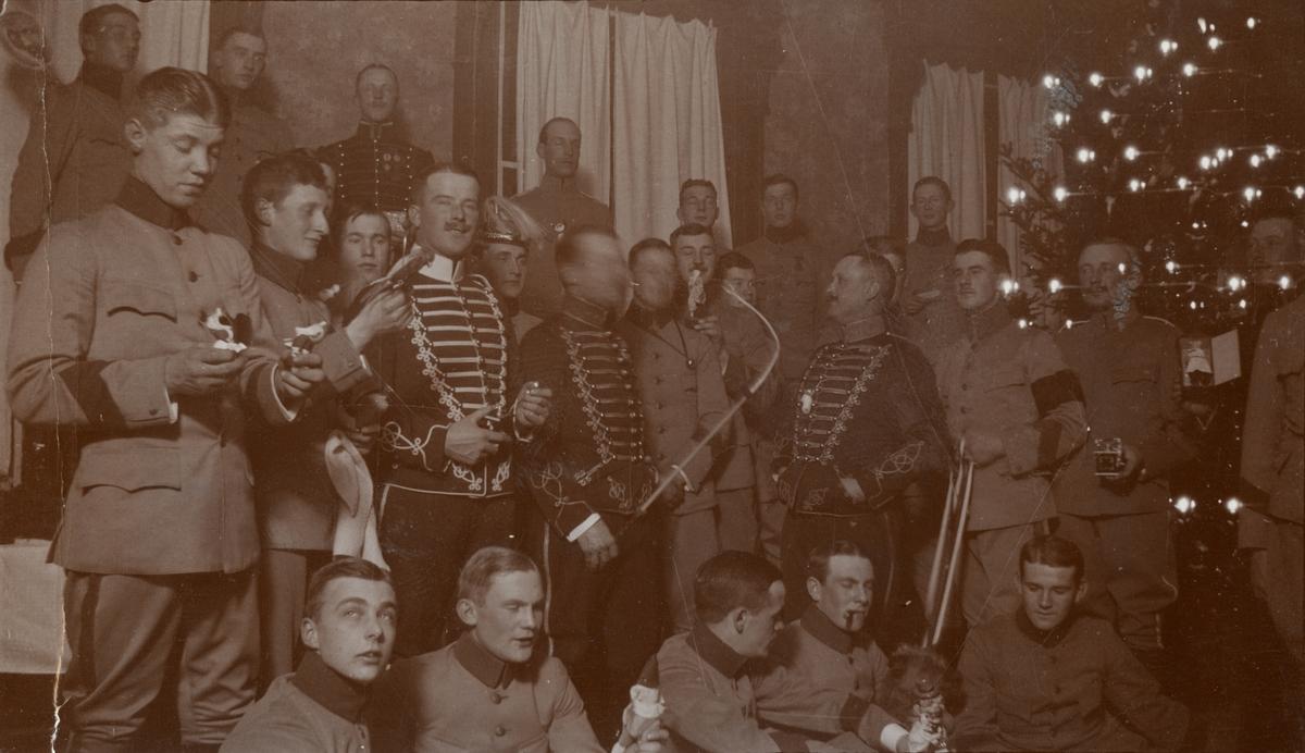 Lill-julafton hos Kavalleriskolan i Umeå.