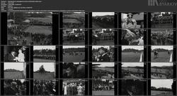 Åpningsdag for galoppløpene på Øvrevoll (Gladtvet film)