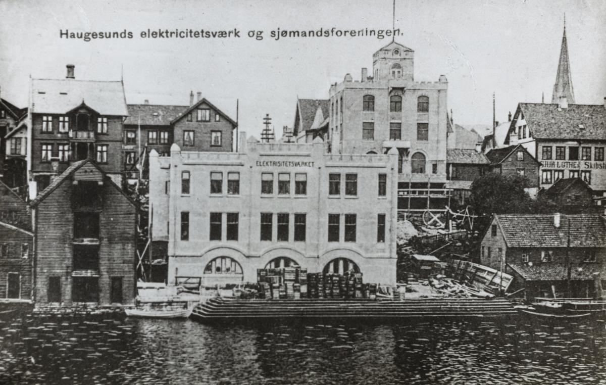 Smedasundet sett mot øst, ca. 1908.