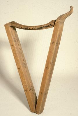 Bygdeharpe fra Stor-Elvdal, 1776. (Foto/Photo)