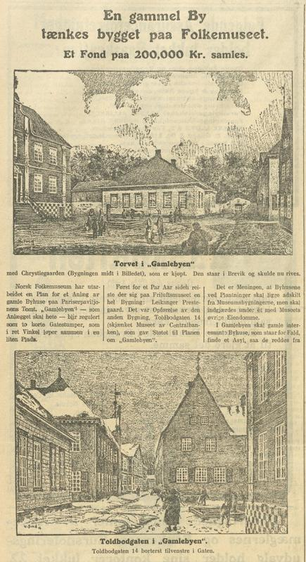 Morgenbladet 1916 (Foto/Photo)
