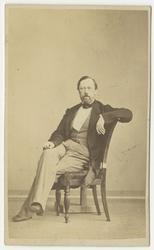 Porträtt av Johan Fredrik Nordenankar, överste vid Andra liv