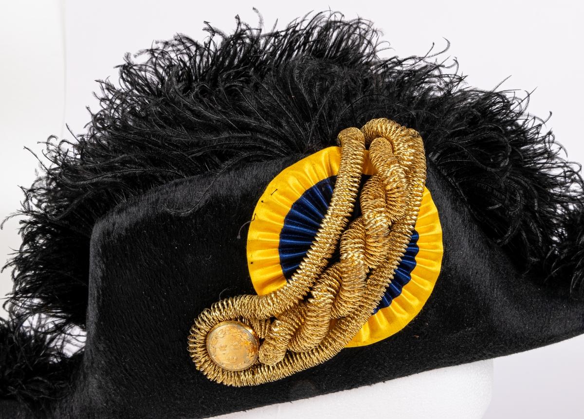 Uniformshatt tillhörande stadsrådsuniform.