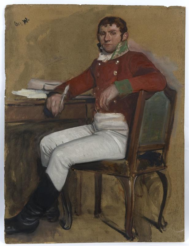 Skisse av Wilhelm Frimann Koren Christie av Oscar Wergeland. 1882-1885. Eidsvoll 1814 (Foto/Photo)