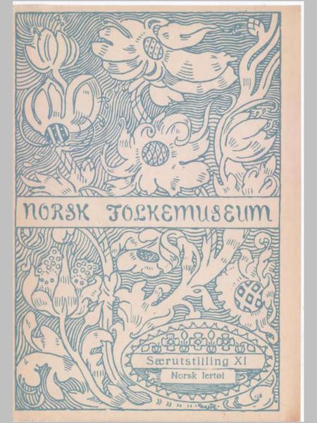 Norsk lertøi 1700-1900.. Foto/Photo