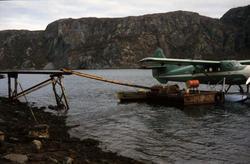 DHC-3 Singel Otter, LN-BDD, sjøfly fra Widerøes Flyveselskap