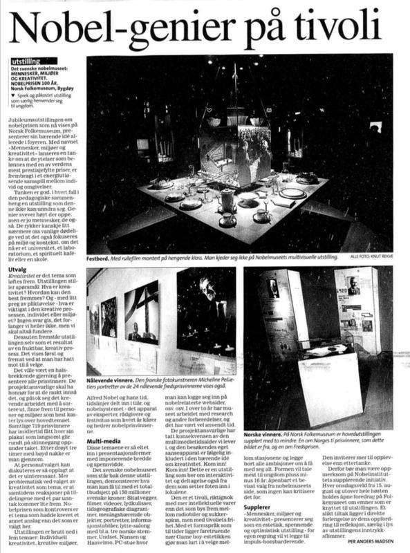 Aftenposten 2001 (Foto/Photo)