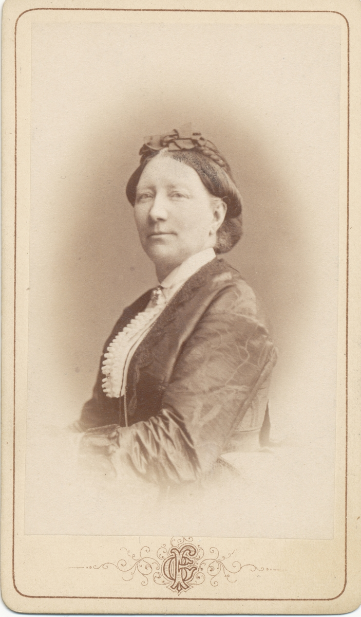 Adelaide Rettig, född Garberg. Gift med Robert Rettig.