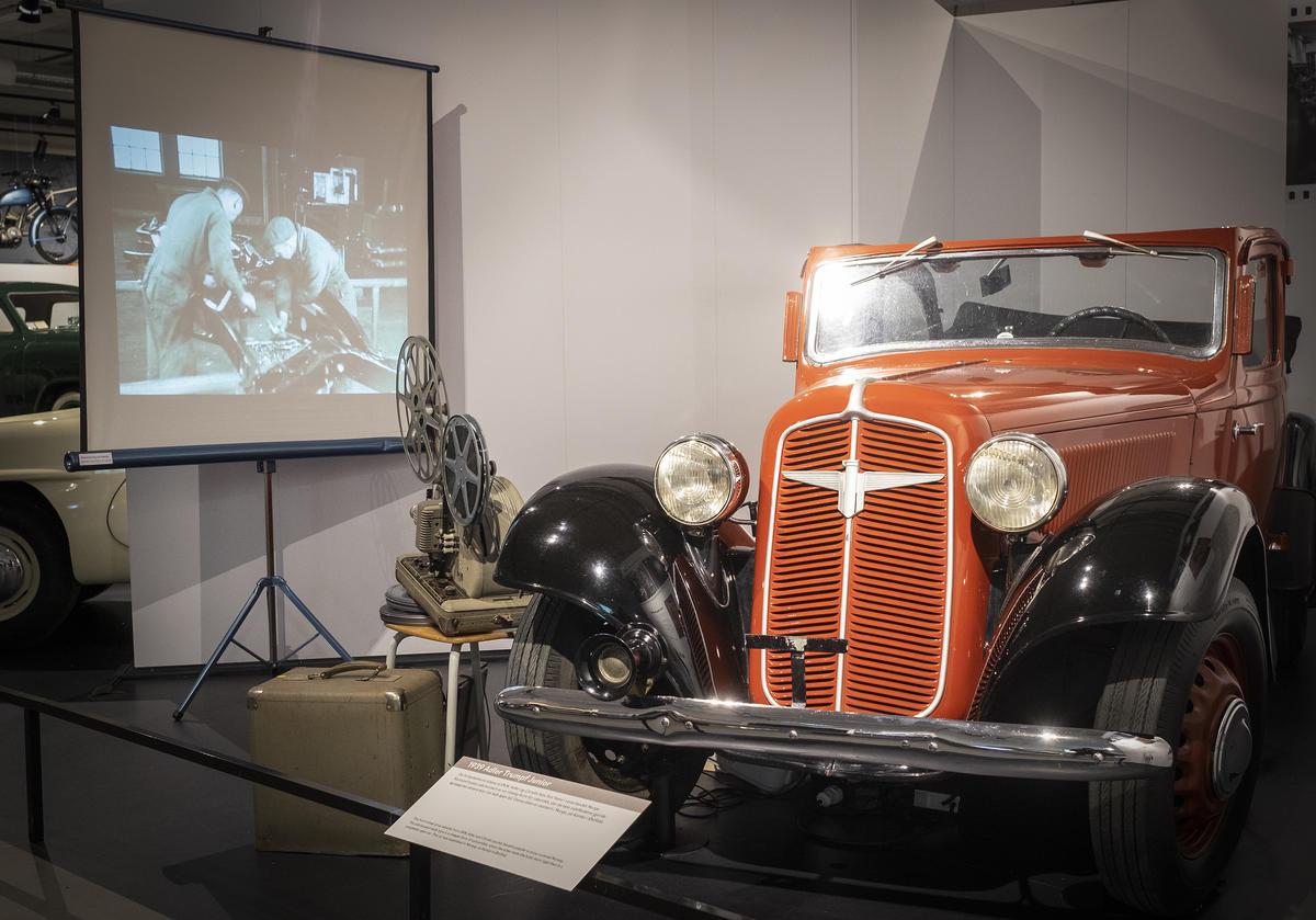 Adler, produsert på Kambo. Foto: Morten Reiten/Norsk vegmuseum (Foto/Photo)