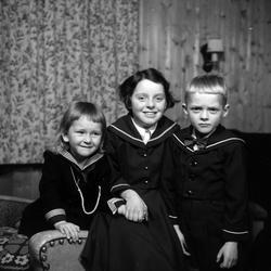 Ingrid, Anne-Kari og Øyvind Haugen
