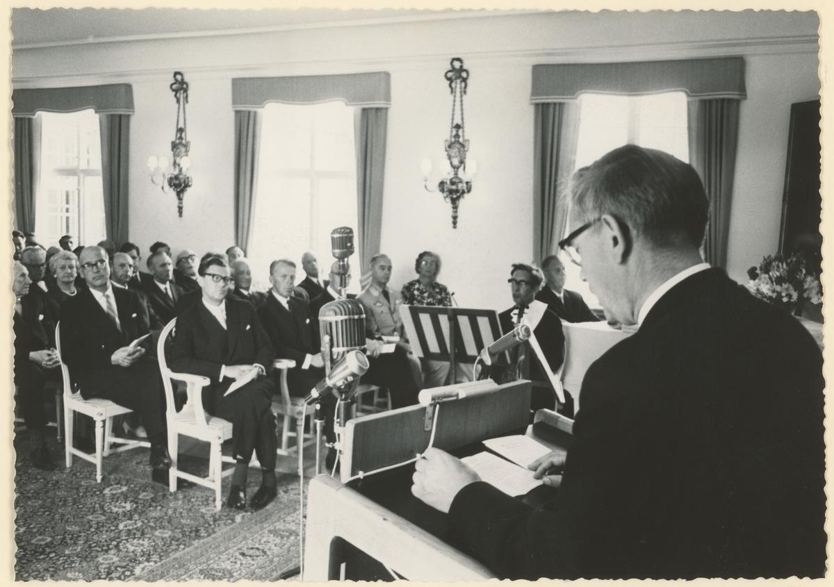 Fra Konventionssalen 14, august 1964