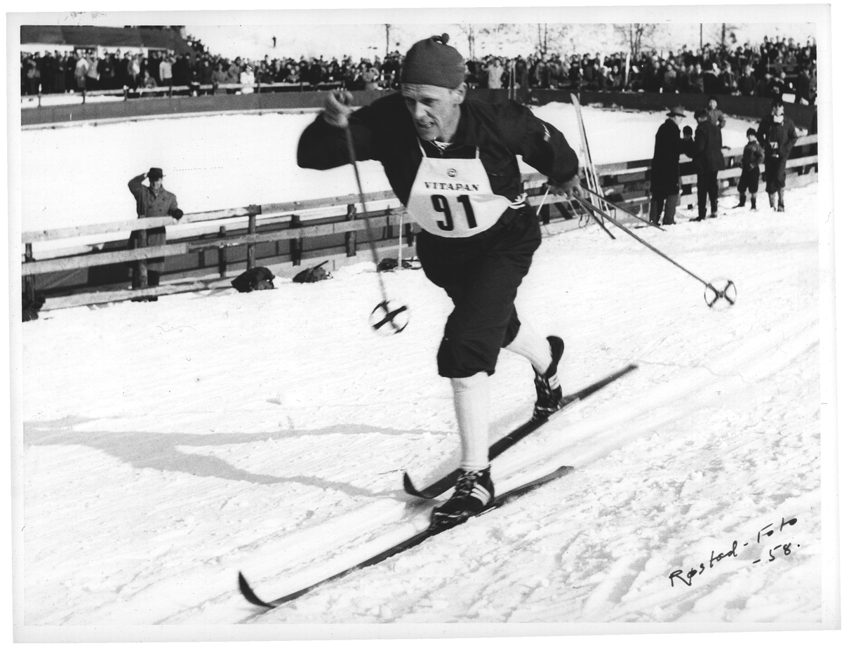 HK. 15 km. Håkon Brusveen ble nr. 2