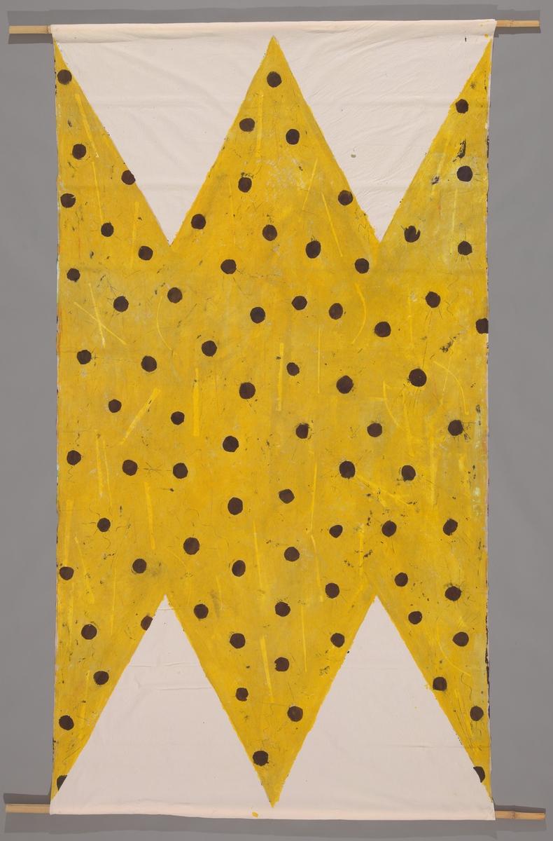 Ned i sanden II [Dekorativ tekstil]