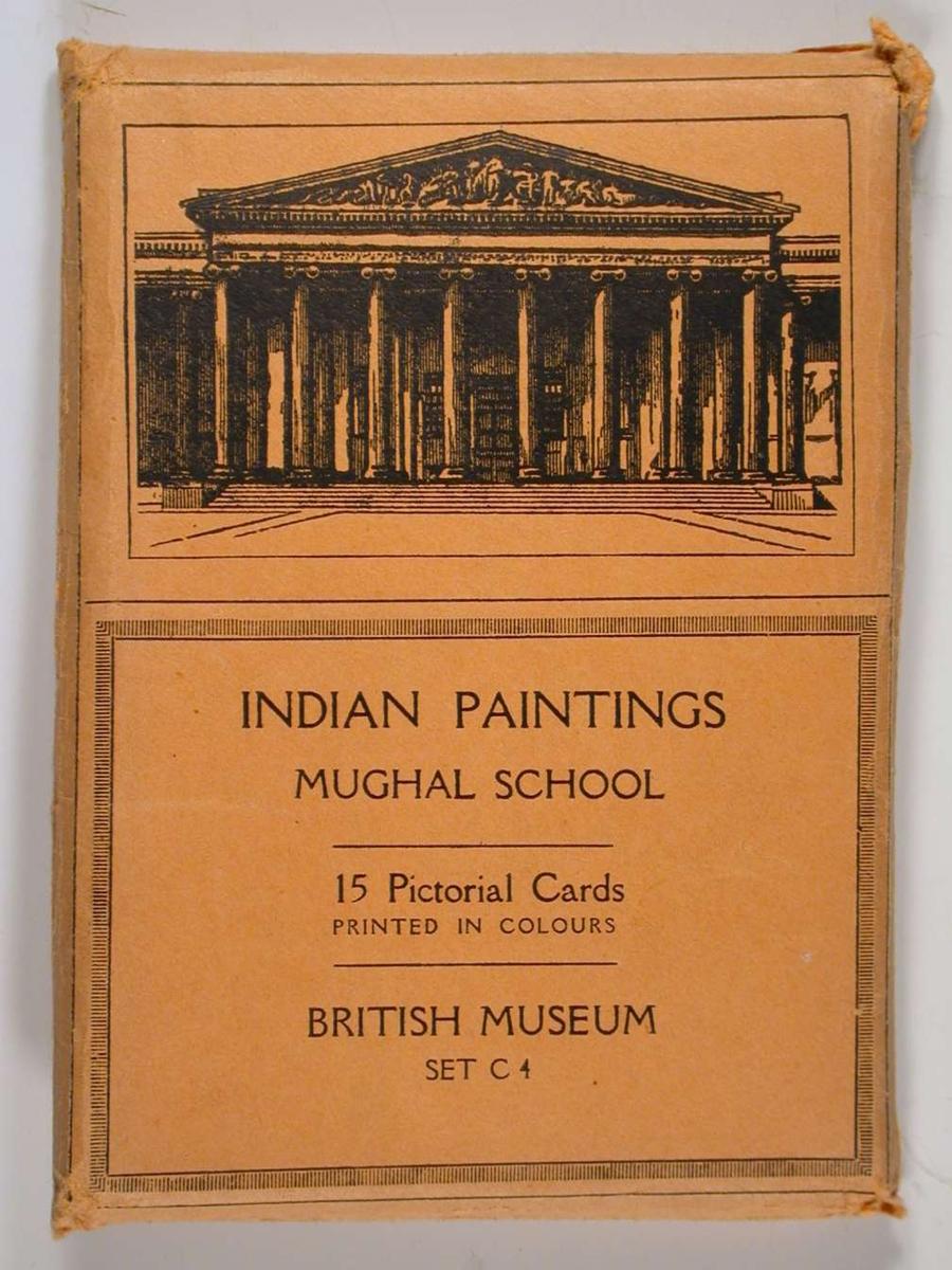 Indiske malerier fra Mughal-skolen