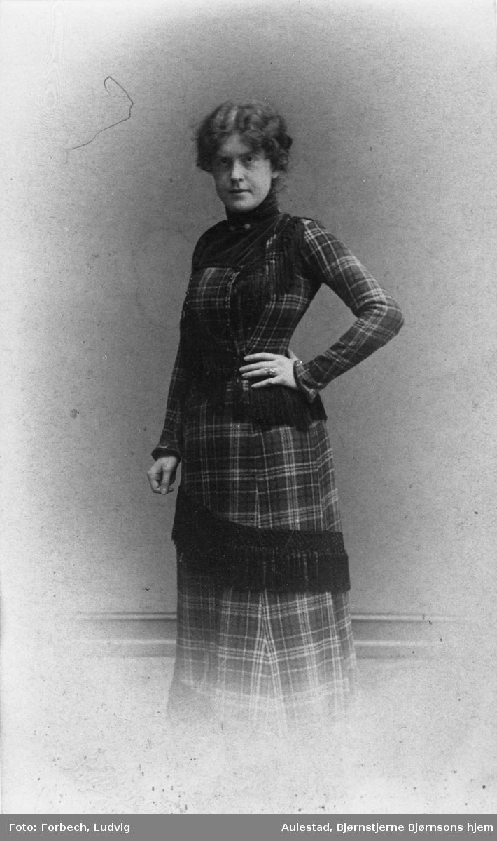 Dagny Bjørnson, datter, repro,