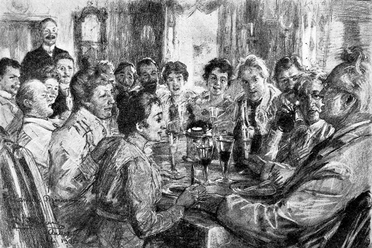 Krøyer, pastell (originalmotiv), Aulestad,