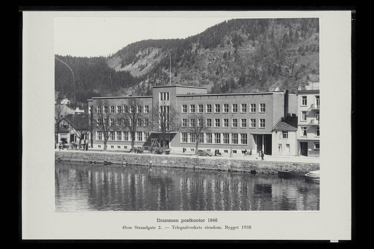 eksteriør, postkontor, 3007 Drammen
