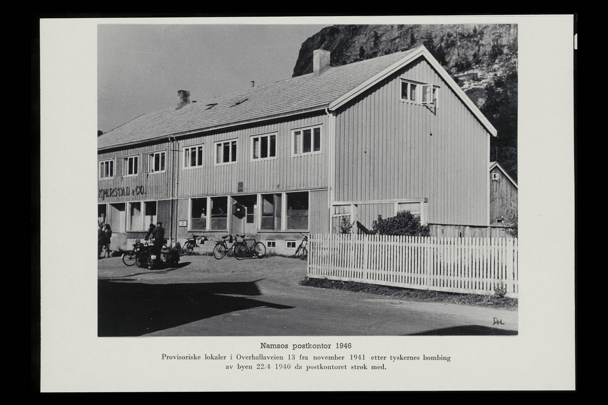 eksteriør, postkontor, 7800 Namsos, postkasse, postskilt