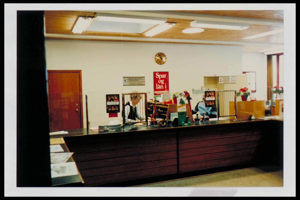 interiør, postkontor, 3600 Kongsberg, publikumshall, ekspeditør