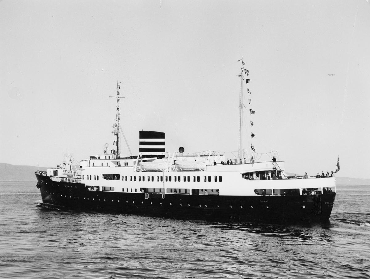 transport båt, eksteriør, M/S Polarlys