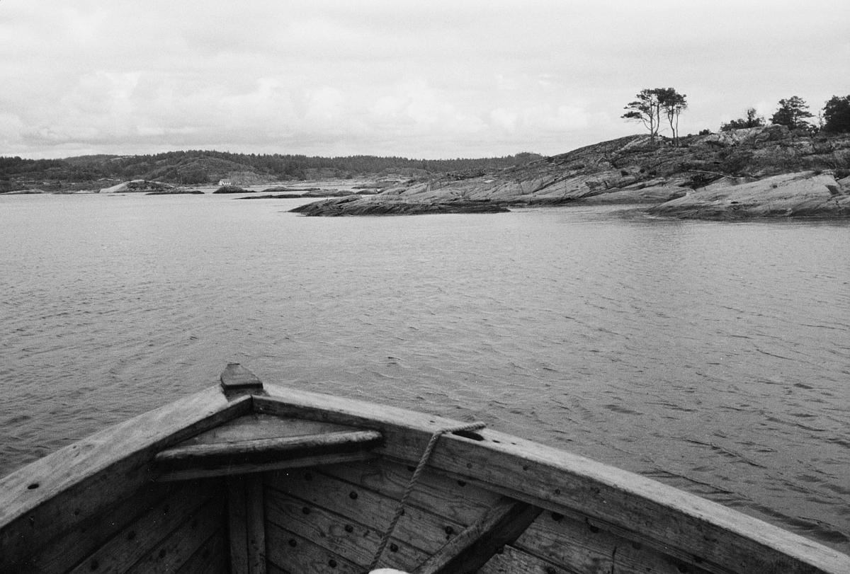 transport, båt, Kragerø, på vannet