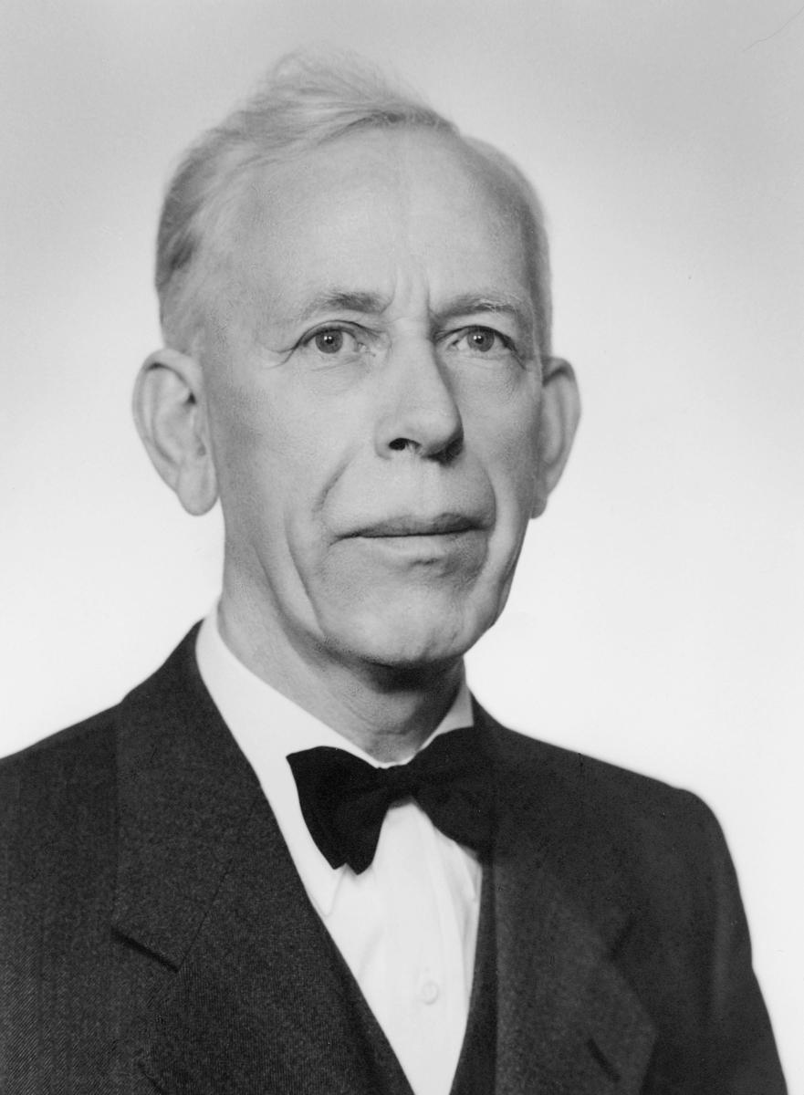 portrett, postmester, Johan Birger Pedersen