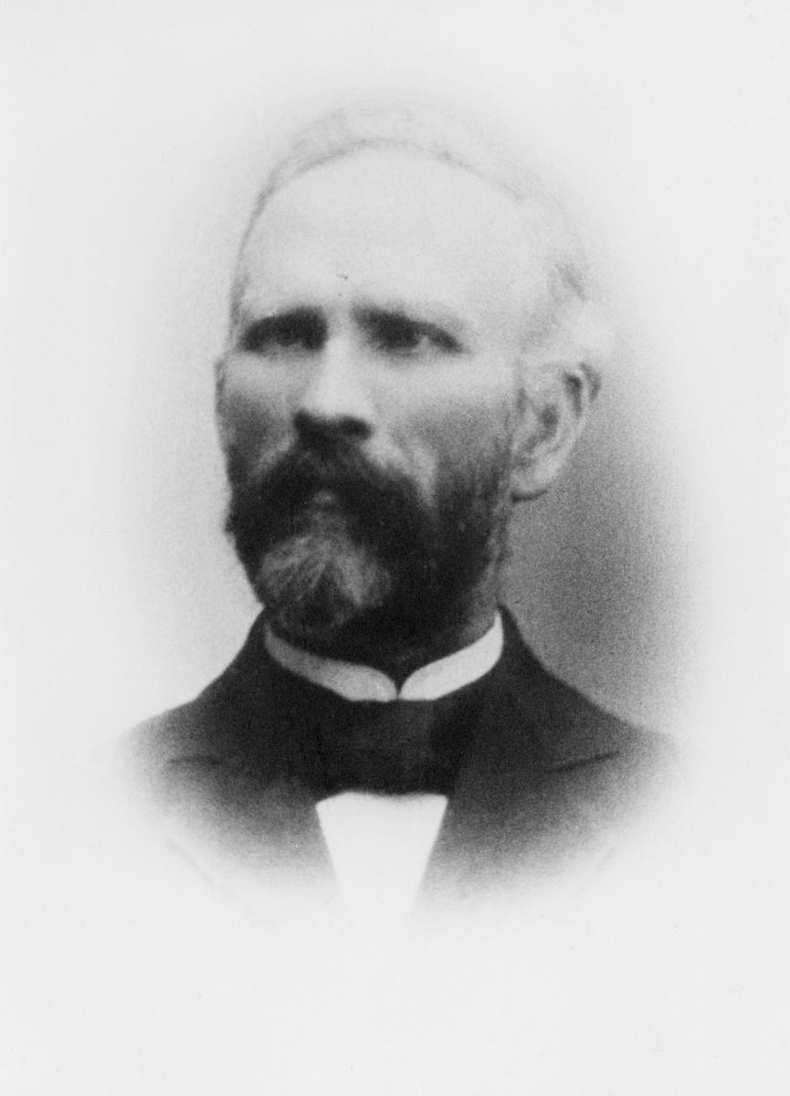 portrett, postmester, Caspar Christian Smith