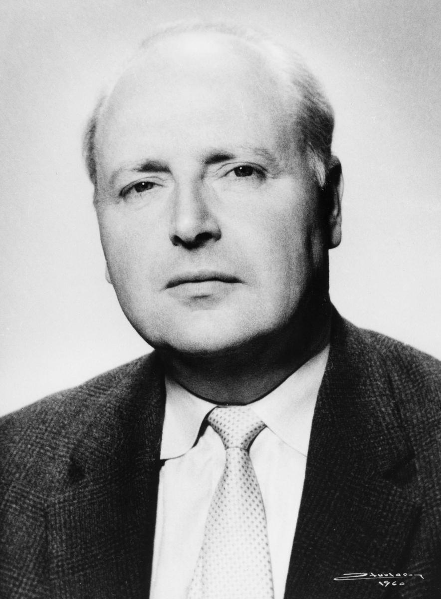 portrett, postsjef, Edvardsen Daniel Arnulf