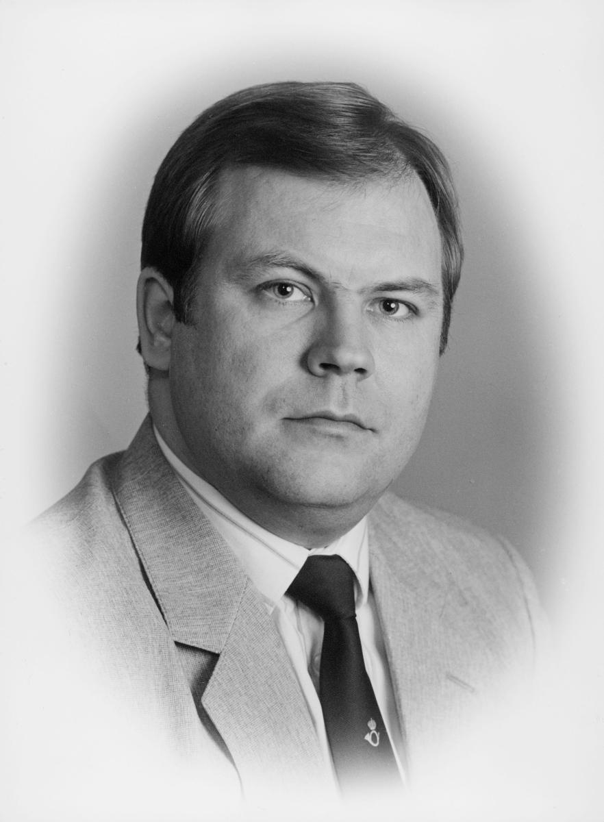 postsjef, Olsen Hartløv Kristian, portrett