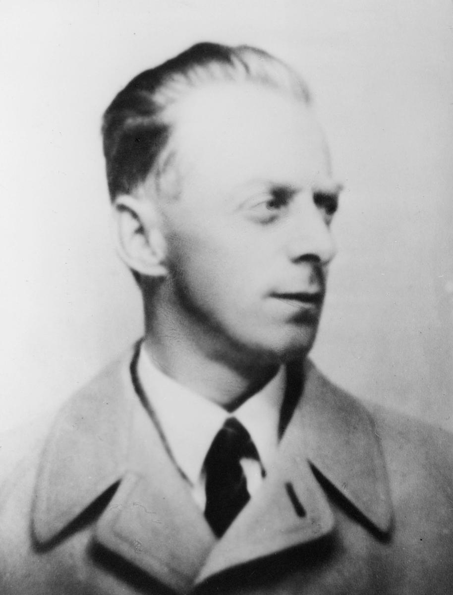 postbetjent, Jensen Ingebrigt, portrett