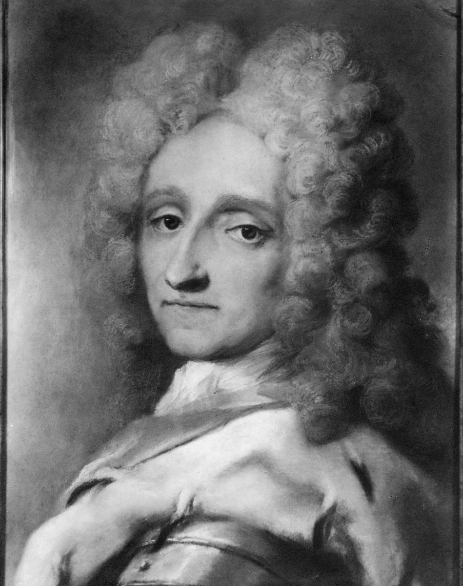 portrett, mann, kong Fredrik 4.