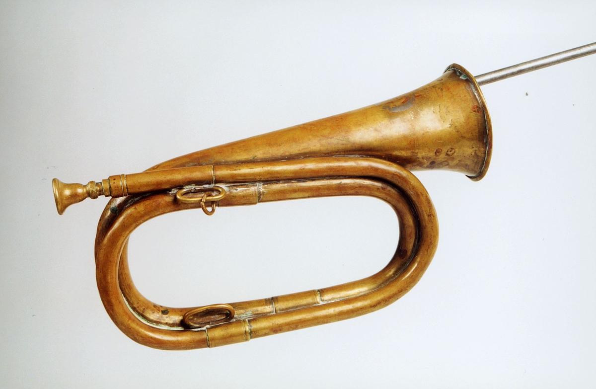 Postmuseet, gjenstander, posthorn, trompettype.