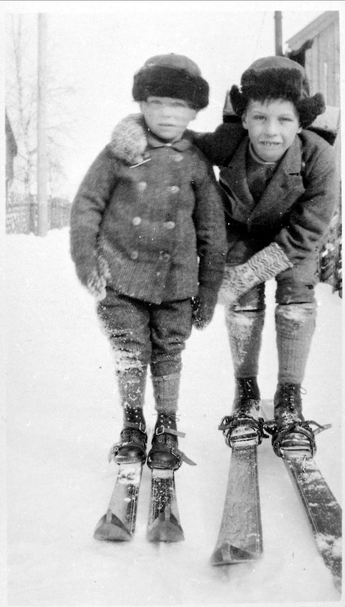 Gutter, ski