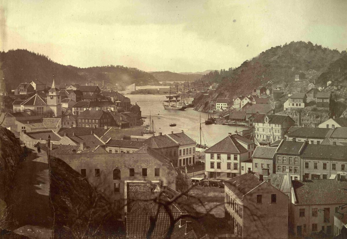 Arendal - Utsikt fra Bendixkleiv