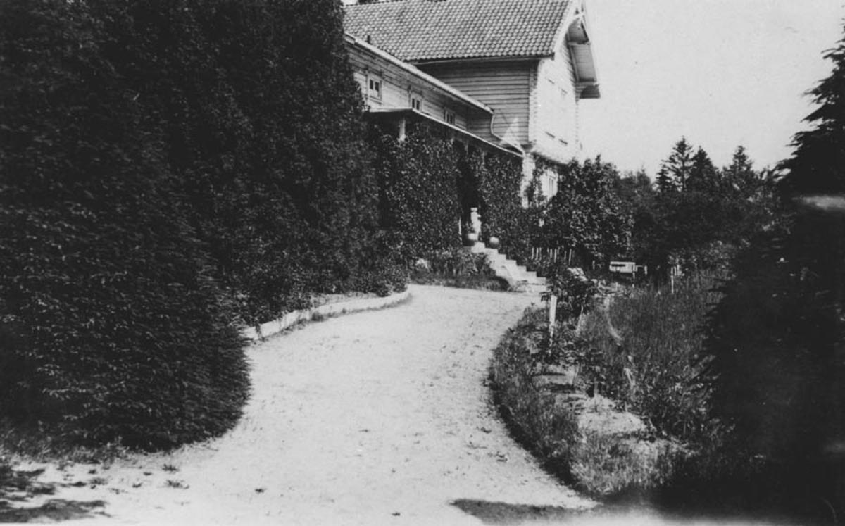 Haven på Waldemarhøy fotografert fra vest