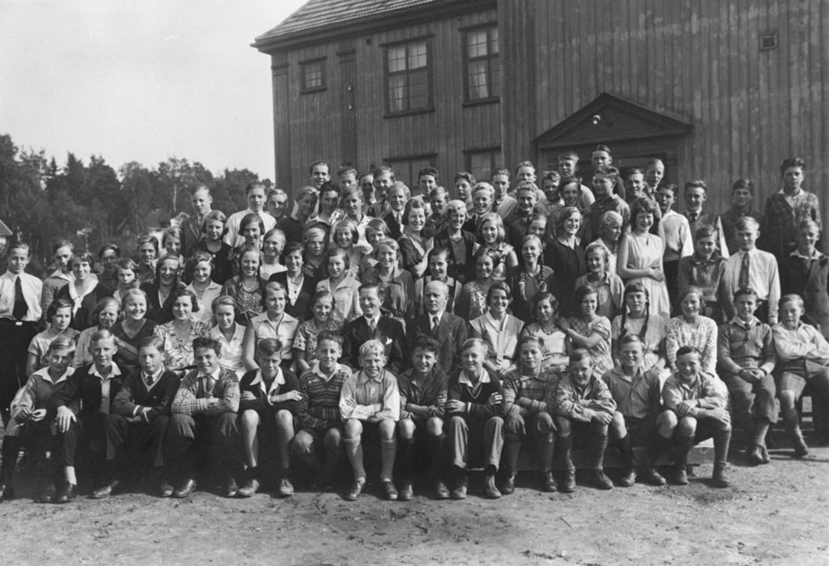 Middelskolen 1933