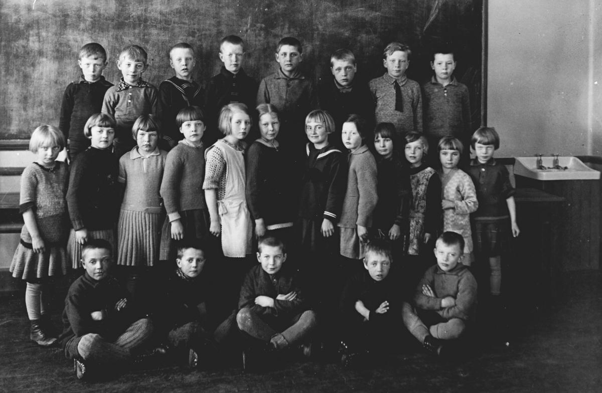 Gruppebilde. - Skoleklasse 3. klasse Greverud skole.