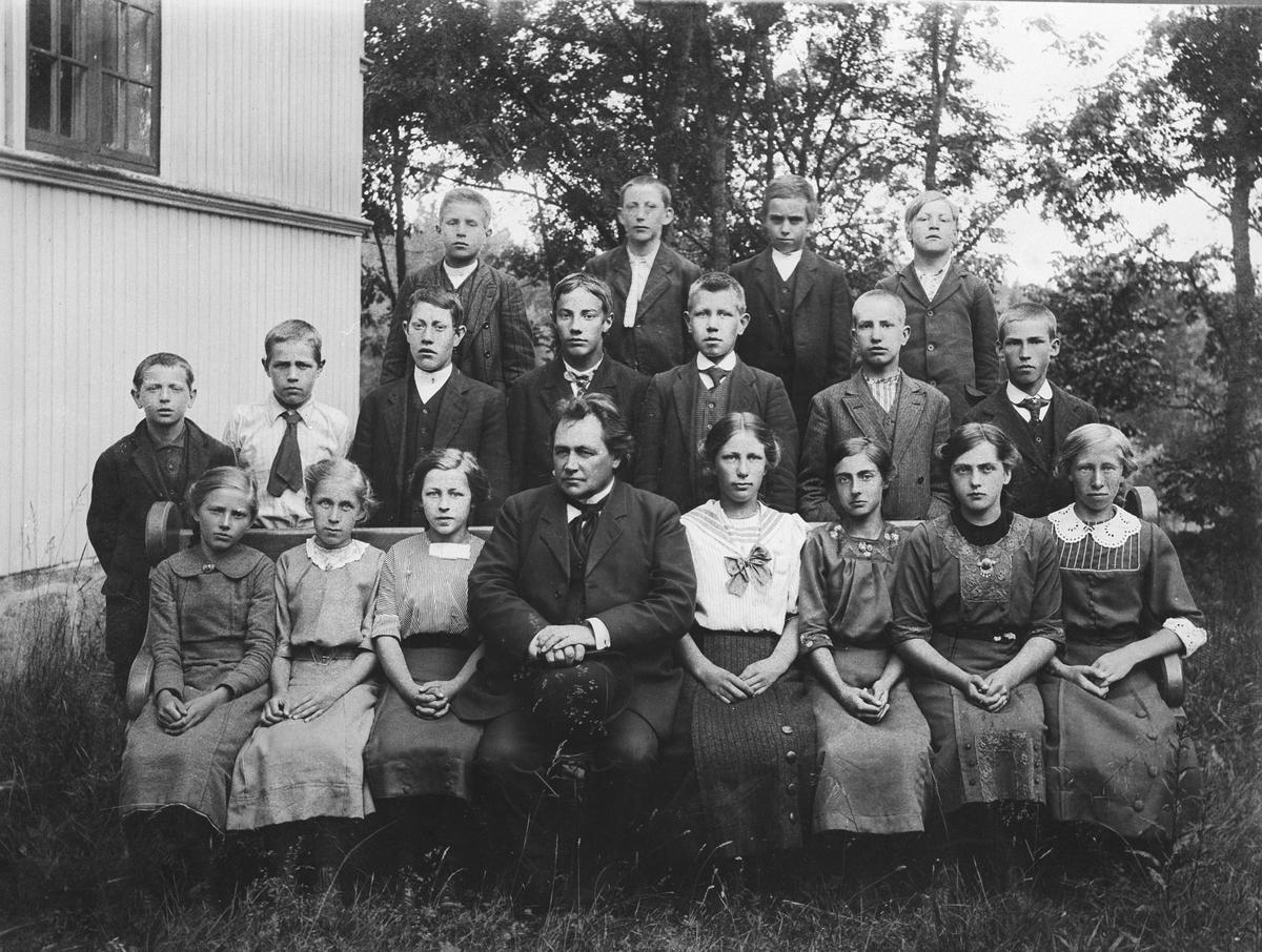 Konfirmanter ved Oppegård kirke