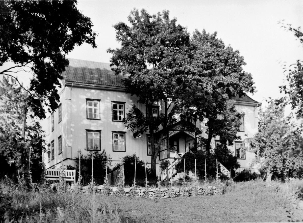Eksteriør, hovedbygning, Ringsaker prestegård.