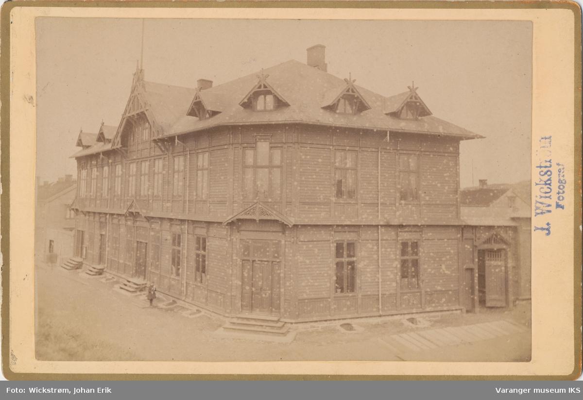Vardø Rådhus i Kristian IVs strede